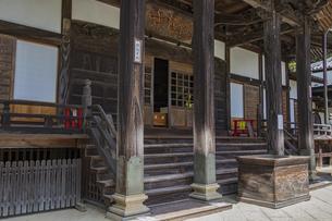 伊豆修善寺の観光名所 修禅寺本堂の写真素材 [FYI04890584]