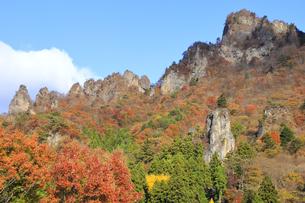 妙義山の紅葉の写真素材 [FYI04890645]