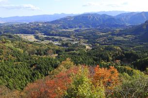 妙義山からの景色の写真素材 [FYI04890665]