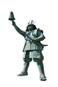真田幸村の像の写真素材 [FYI04890799]