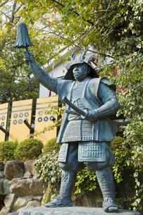 真田幸村の像の写真素材 [FYI04890800]