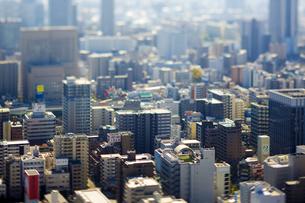 大阪北区の街並みの写真素材 [FYI04890818]