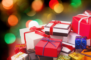 クリスマスプレゼントの写真素材 [FYI04890911]