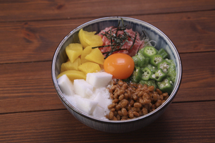 バクダン丼の写真素材 [FYI04891221]