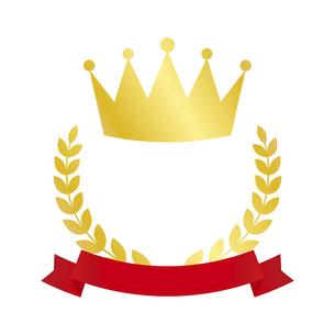 王冠のランキングアイコンのイラスト素材 [FYI04891443]
