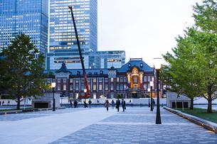 東京駅の写真素材 [FYI04891635]