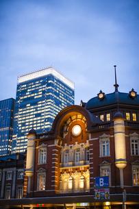 東京駅の写真素材 [FYI04891667]