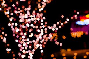 クリスマスイルミネーションの写真素材 [FYI04891690]