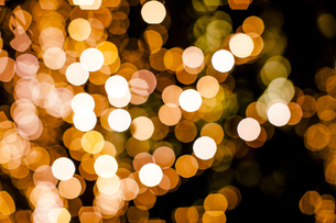 クリスマスイルミネーションの写真素材 [FYI04891695]