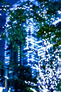 クリスマスイルミネーションの写真素材 [FYI04891696]