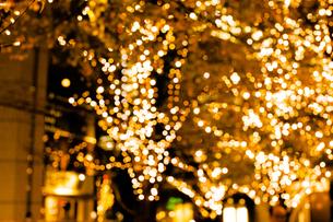 クリスマスイルミネーションの写真素材 [FYI04891697]