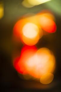 街のネオンの写真素材 [FYI04891706]