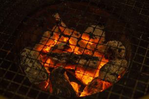 炭火の写真素材 [FYI04891719]