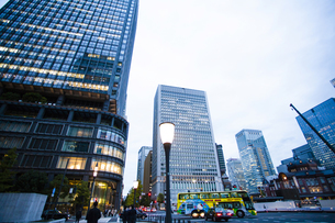 東京駅の写真素材 [FYI04891723]