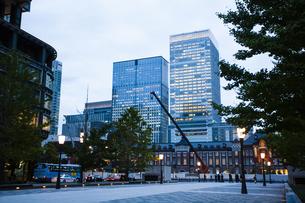 東京駅の写真素材 [FYI04891724]