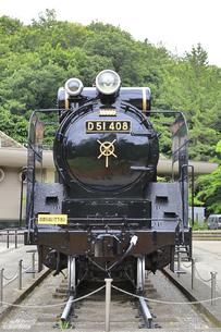 生田緑地 蒸気機関車D51の写真素材 [FYI04892380]