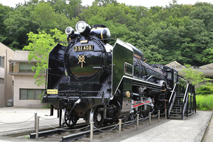 生田緑地 蒸気機関車D51の写真素材 [FYI04892385]