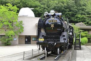 生田緑地 蒸気機関車D51の写真素材 [FYI04892386]