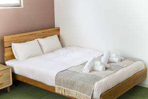 ベッドルームの写真素材 [FYI04892825]
