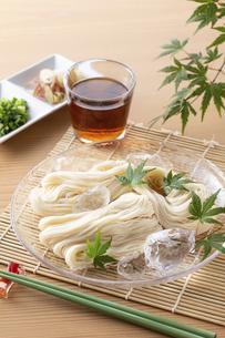 素麺を食べるの写真素材 [FYI04893223]