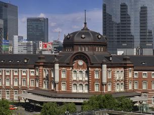 東京駅 丸の内駅舎の写真素材 [FYI04893865]