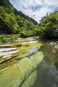 面河渓谷(愛媛県)の写真素材 [FYI04894097]