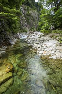 面河渓谷(愛媛県)の写真素材 [FYI04894098]
