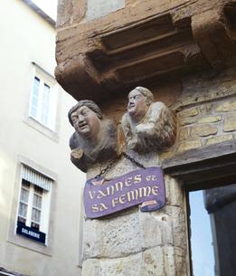 ヴァンヌとその妻の写真素材 [FYI04894122]