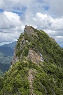 石鎚山 天狗岳山頂(愛媛県)の写真素材 [FYI04894143]