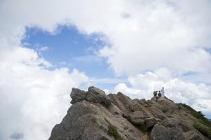 石鎚山 天狗岳山頂(愛媛県)の写真素材 [FYI04894154]