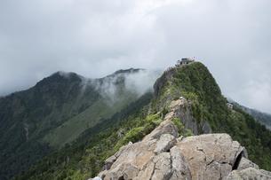 石鎚山 弥山山頂(愛媛県)の写真素材 [FYI04894160]