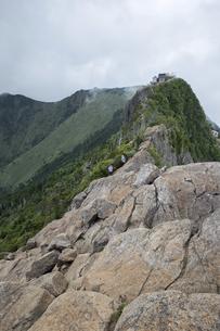 石鎚山 弥山山頂(愛媛県)の写真素材 [FYI04894161]
