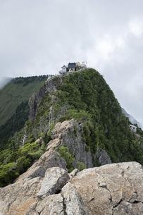 石鎚山 弥山山頂(愛媛県)の写真素材 [FYI04894164]