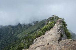 石鎚山 弥山山頂(愛媛県)の写真素材 [FYI04894167]