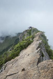石鎚山 弥山山頂(愛媛県)の写真素材 [FYI04894168]