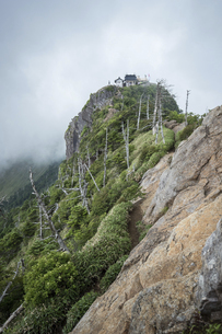 石鎚山 弥山山頂(愛媛県)の写真素材 [FYI04894169]
