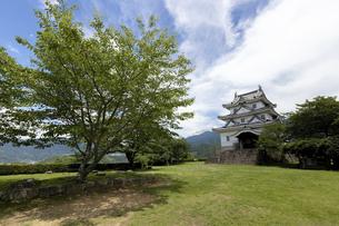 宇和島城の写真素材 [FYI04894205]