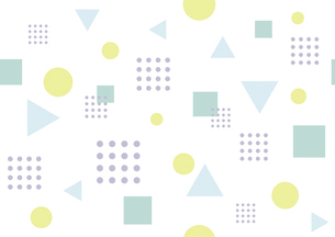 カラフルな幾何学模様のイラスト素材 [FYI04894292]