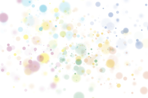 カラフルな水玉模様のイラスト素材 [FYI04894469]