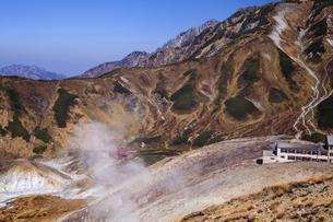 立山 地獄谷の写真素材 [FYI04895667]