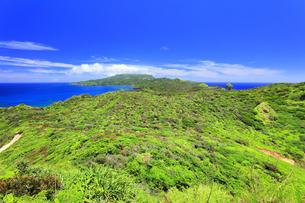 小笠原国立公園 母島の小富士より北方向を望むの写真素材 [FYI04896192]