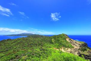 小笠原国立公園 母島の小富士より北方向を望むの写真素材 [FYI04896199]