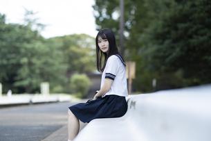 女子高生の写真素材 [FYI04896859]