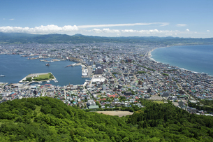 函館山からの函館市街の写真素材 [FYI04897206]