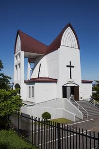 函館 聖ヨハネ教会の写真素材 [FYI04897207]