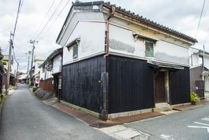 湯浅町湯浅伝統的建造物群保存地区の町並みの写真素材 [FYI04897306]