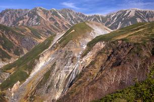 立山 ソーメン滝の写真素材 [FYI04897313]