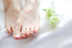 女性の両足の写真素材 [FYI04897771]