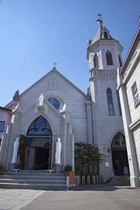 函館 カトリック元町教会 の写真素材 [FYI04898034]