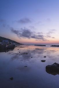 夜明けの礼文島の写真素材 [FYI04898119]